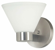 Kenroy Home 91791BS Maxwell Transitional Style Brushed Steel Wall Lighting