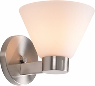 Kenroy Home 91791BS Maxwell Brushed Steel Lighting Wall Sconce