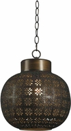 Kenroy Home 92055ABR Seville Aged Bronze Mini Pendant Light Fixture