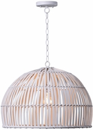 Kenroy Home 92073WH Moon White Drop Lighting