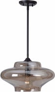Kenroy Home 93036AMB Sanborn Modern Oil Rubbed Bronze Finsh Pendant Lighting Fixture