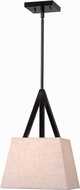 Kenroy Home 93121ORB Intersect Oil Rubbed Bronze Mini Drop Lighting Fixture