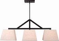 Kenroy Home 93123ORB Intersect Oil Rubbed Bronze Kitchen Island Lighting