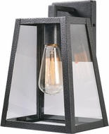 Kenroy Home 93137BL Fiely Black Wall Lamp