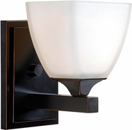 Kenroy Home 93225ORB Helix Oil Rubbed Bronze Wall Sconce