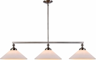 Kenroy Home 93248BS Conical Brushed Steel Island Light Fixture