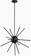 Kenroy Home 93272FGRPH Atom Contemporary Forged Graphite LED Hanging Pendant Lighting