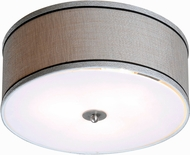 Kenroy Home 93346MS Margot Brushed Steel Ceiling Light Fixture