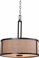 Kenroy Home 93363BRZ Keen Bronze Drum Pendant Light