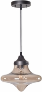 Kenroy Home 93485WBZ Rain Drop Modern Warm�Bronze�Finish Drop Lighting Fixture
