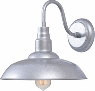 Kenroy Home 93507GAL Dale Modern Galvanized Indoor / Outdoor Lighting Wall Sconce