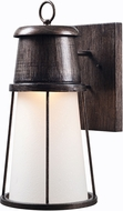 Kenroy Home 93549TS Harbinger Large Tuscan Silver LED Outdoor Wall Sconce Lighting