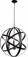 Kenroy Home 93553BLK Global Black Lighting Pendant