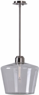 Kenroy Home 93561BS Abra Brushed Steel Hanging Lamp