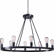 Kenroy Home 93566FGRPH Hixon Contemporary Forged Graphite Kitchen Island Light Fixture