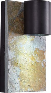 Kenroy Home 93581ORB Frederick Contemporary Oil Rubbed Bronze Exterior 14.125 Wall Light Sconce
