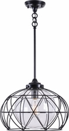 Kenroy Home 93664ORB Cavea Contemporary Oil Rubbed Bronze Hanging Pendant Lighting