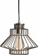 Kenroy Home 93883VC Holston Contemporary Vintage Copper Mini Drop Lighting Fixture
