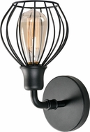 Kenroy Home 93970BL Cagney Contemporary Black Wall Lighting