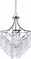 Kenroy Home 93988CH Carrie Contemporary Chrome Drop Lighting Fixture