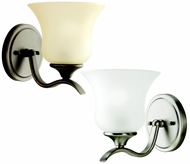 Kichler 10636 Wedgeport 1 Lamp Torch Style Wall Mount Light Fixture