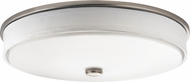Kichler 10886NILED Brushed Nickel LED Flush Mount Ceiling Light Fixture