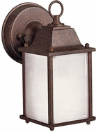 Kichler 10923 Small Square Lantern Traditional Exterior Wall Lamp 9 Inch Tall