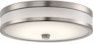 Kichler 11302CPLED Pira Contemporary Champagne LED 12  Overhead Lighting