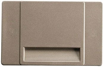Kichler 12673NI Step and Hall Light Contemporary Brushed Nickel LED Indoor Step Light