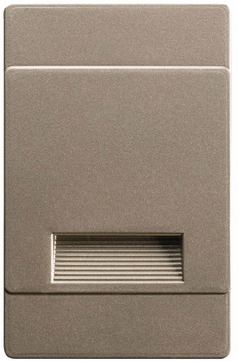 Kichler 12678NI Step and Hall Light Contemporary Brushed Nickel LED Indoor Step Light