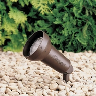 Kichler 15230AZT HID High Intensity Discharge Modern Textured Architectural Bronze Outdoor Pathway Lighting 120V Accent 1-Lt