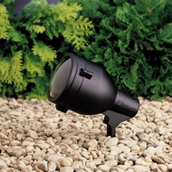 Kichler 15241 Medium 7 Inch Tall Outdoor Accent Light Fixture With Finish Options