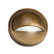 Kichler 15477CBR Contemporary Centennial Brass Xenon Exterior Deck Light