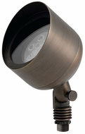 Kichler 15487CBR Contemporary Centennial Brass Exterior Landscape Lighting Design PAR 36 CBR Uplight