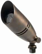 Kichler 15517CBR Contemporary Centennial Brass Exterior Landscape Lighting Fixture MR16 Adjustable Accent Light