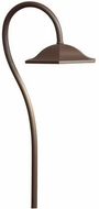 Kichler 15807AZT Contemporary Textured Architectural Bronze LED Outdoor Landscaping Light