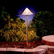 Kichler 15843CO Landscape LED 22 Inch Tall Copper Outdoor Path Light Fixture