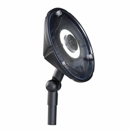 Kichler 15861BKT27R Wall Wash Contemporary Textured Black LED Exterior 2700k Flood Light