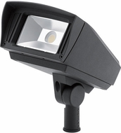 Kichler 16022BKT Landscape LED Contemporary Textured Black LED Exterior Pathway Lighting VLO 2700K 6x5 LED Flood