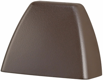 Kichler 16111AZT27 Contemporary Textured Architectural Bronze LED Exterior 2700k Deck Light