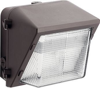 Kichler 16231AZT50 120V LED Contemporary Textured Architectural Bronze Outdoor 5000K C-Series Wall Pack