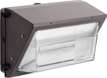 Kichler 16233AZT40 120V LED Modern Textured Architectural Bronze Exterior 4000K C-Series Wall Pack