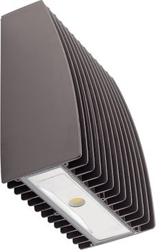 Kichler 16236AZT40 120V LED Contemporary Textured Architectural Bronze Outdoor 4000K 10W C-Series Slim Wall