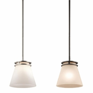 Kichler 1687 Hendrik 8  Wide Mini Pendant Lighting