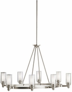 Kichler 2345NI Circolo Modern Brushed Nickel 25  Ceiling Chandelier