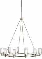 Kichler 2347NI Circolo Contemporary Brushed Nickel 44.5  Lighting Chandelier