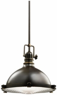 Kichler 2666OZ Hatteras Bay Contemporary Olde Bronze Pendant Lighting Fixture
