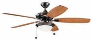 Kichler 300026OBB Canfield Select Oil Brushed Bronze LED 52 Ceiling Fan
