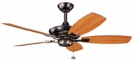 Kichler 300107OBB Canfield Oil Brushed Bronze 44 Ceiling Fan