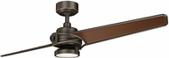 Kichler 300702OZ Xety Contemporary Oil Brushed Bronze 56 Indoor Ceiling Fan